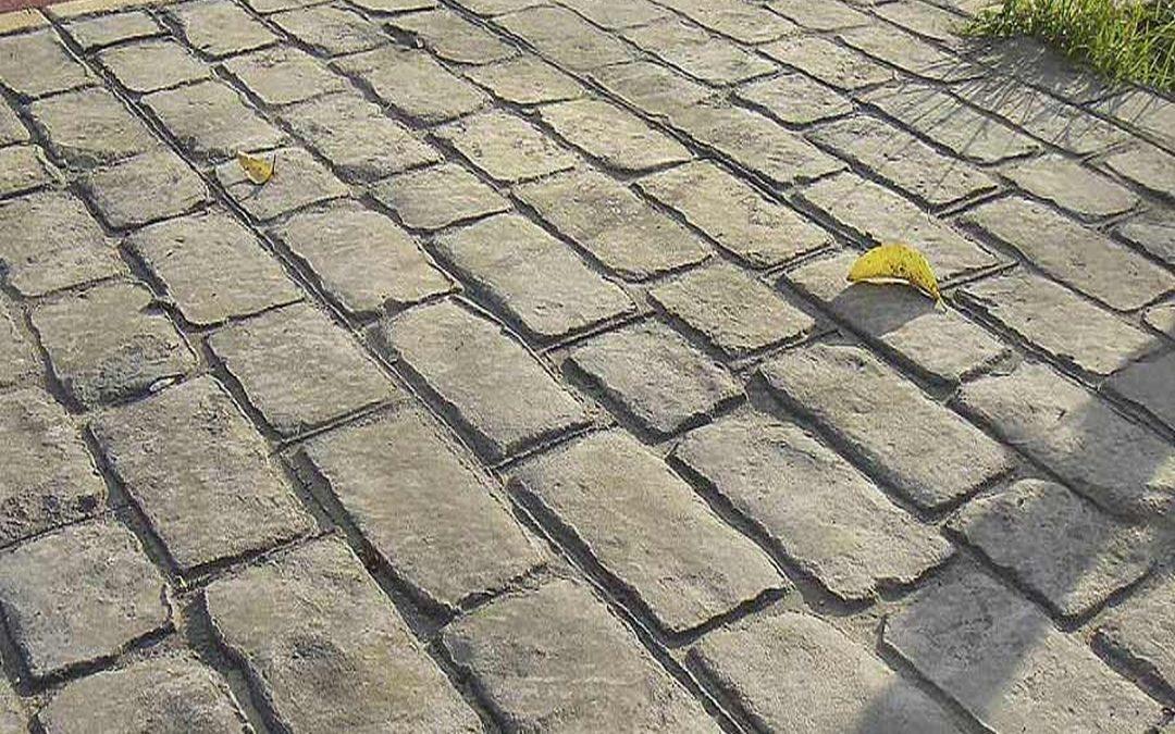 Il cemento stampato: innovazione originalità per pavimenti ...