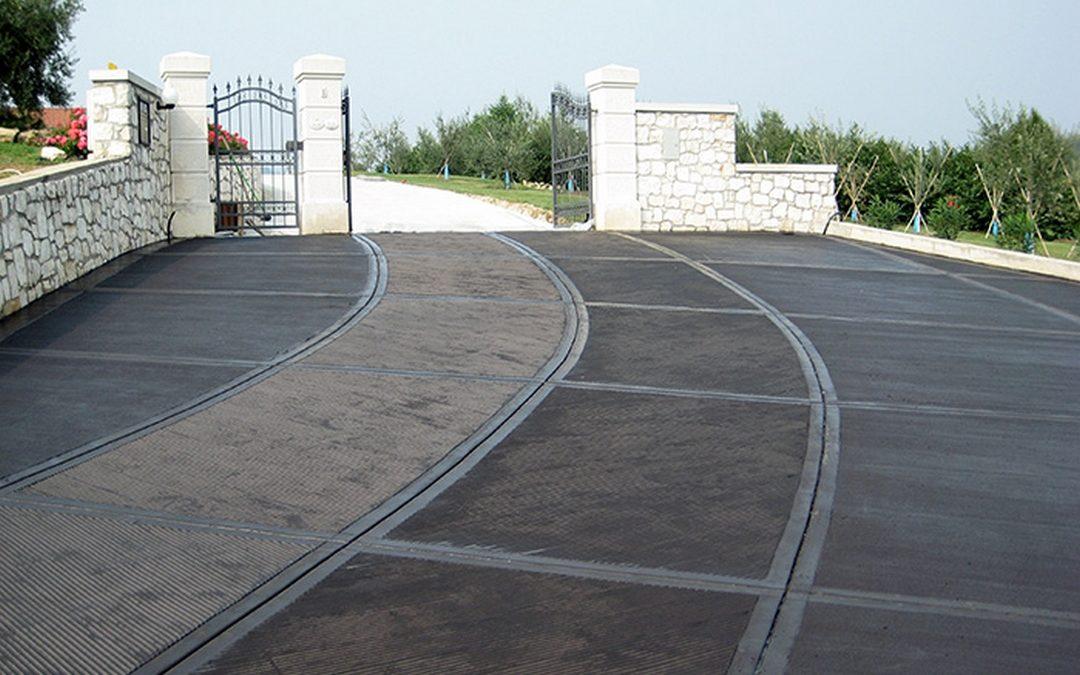 EmilPav S.r.l.: tipi di rampe in calcestruzzo ghiaino lavato